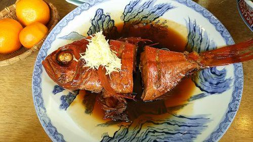 5-1伊豆の金目鯛煮付け