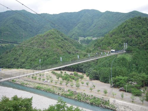 谷瀬の吊橋 - Suspension bridge of Tanize // 2010.07.28 - 74